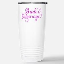 Brides Entourage pink Travel Mug