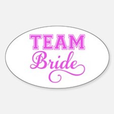 Team Bride pink Decal