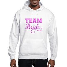 Team Bride pink Hoodie