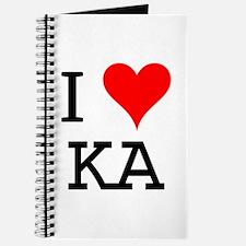 I Love KA Journal