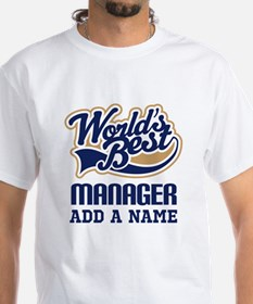 Manager Gift personalized T-Shirt