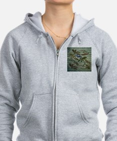Dragonfly Song Zipped Hoodie