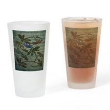 Dragonfly Song Drinking Glass