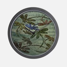 Dragonfly Song Wall Clock