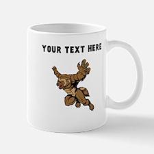 Custom Wolf Mascot Mugs