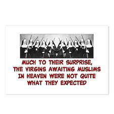 VIRGINS IN HEAVEN Postcards (Package of 8)