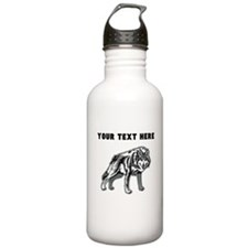 Custom Arctic Wolf Water Bottle