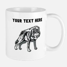 Custom Arctic Wolf Mugs