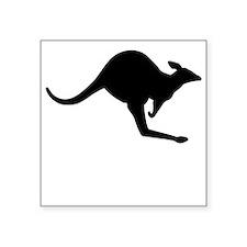 Kangaroo Silhouette Sticker