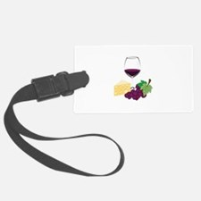 Wine And Cheese Luggage Tag