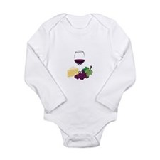 Wine And Cheese Body Suit