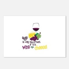 Wine Or Cheese! Postcards (Package of 8)