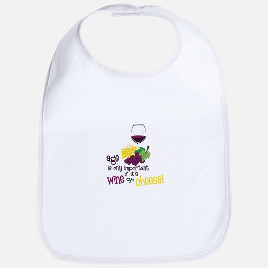 Wine Or Cheese! Bib