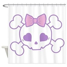 Goth Girl Shower Curtain
