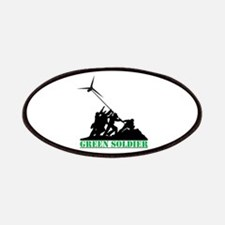 Green Soldier Wind Turbine Patches