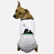 Green Soldier Wind Turbine Dog T-Shirt