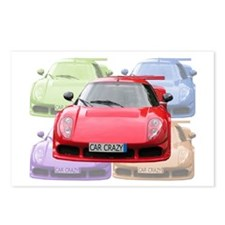 ...Car Crazy... Postcards (Package of 8)