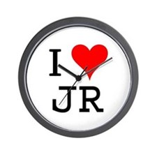I Love JR Wall Clock