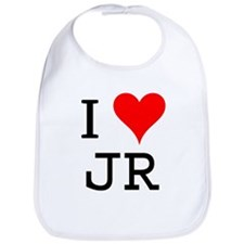 I Love JR Bib