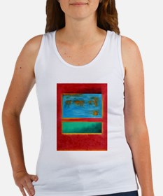 ROTHKO IN RED BLUE GREEN 2 Tank Top
