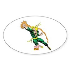 Iron Fist Vintage Decal