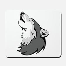 Wolf Howling Mousepad