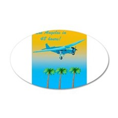 Air Travel Vintage Style Wall Decal