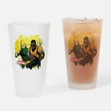 Iron Fist and Luke Cage Drinking Glass