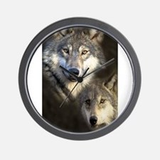 Cute Wolfpack Wall Clock