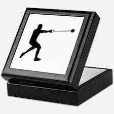 Hammer throw Keepsake Box
