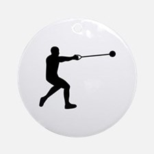 Hammer throw Ornament (Round)