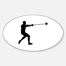 Hammer throw Decal