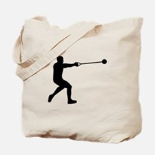 Hammer throw Tote Bag