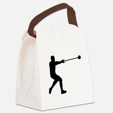 Hammer throw Canvas Lunch Bag