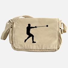 Hammer throw Messenger Bag