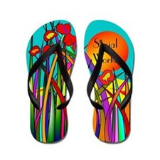 Social worker 2014 3 Flip Flops