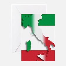 Italy Italian Flag Greeting Cards