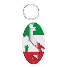 Italy Italian Flag Keychains