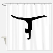 Gymnastics yoga Shower Curtain