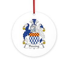 Fleming Ornament (Round)