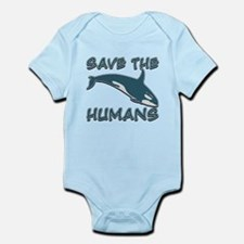 Save the Humans Infant Bodysuit