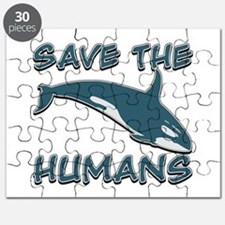 Save the Humans Puzzle