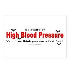 High Blood Pressure Postcards (Package of 8)