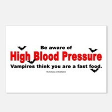High Blood Pressure Postcards (Package of 8)