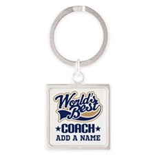 Personalized Coach Gift Keychains