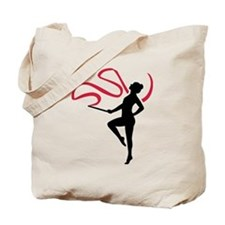 Rhythmic gymnast Tote Bag