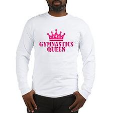 Gymnastics Queen Long Sleeve T-Shirt