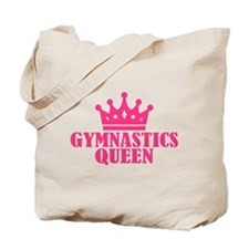 Gymnastics Queen Tote Bag