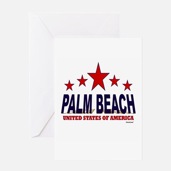 Palm Beach U.S.A. Greeting Card