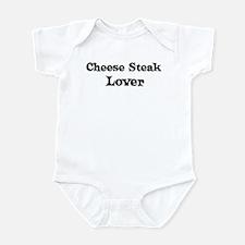 Cheese Steak lover Infant Bodysuit